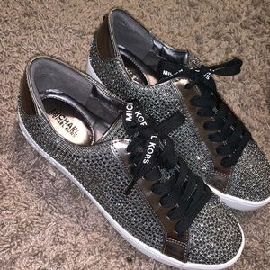 AUTHENTIC MICHAEL KORS GLITTER SNEAKERS